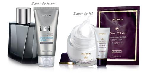 Oriflame zestaw kosmetyków